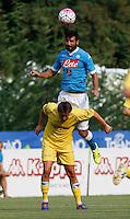 Raul Albiol  durante l amichevole Napoli  Anaune a Dimaro 21 Luglio 2015<br /> <br /> Preseason summer training of Italy soccer team  SSC Napoli  in Dimaro Italy July 11, 2015