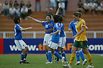 Third place match Australia VS Japan during the 2008 AFC Women's Asian Cup, 8 June, 2008  in Thong Nhat Stadium, Ho Choi Minh City, Vietnam. Photo by World Sport Group