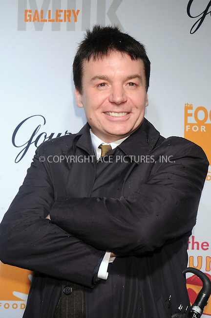 WWW.ACEPIXS.COM . . . . . ....December 11 2008, New York City....Actor Mike Myers at the Lunchbox Auction presented by Gourmet Magazine, to benefit the Food Bank of New York City and The Lunchbox Fund of South Africa at Milk Studios on December 11, 2008 in New York City....Please byline: KRISTIN CALLAHAN - ACEPIXS.COM.. . . . . . ..Ace Pictures, Inc:  ..tel: (212) 243 8787 or (646) 769 0430..e-mail: info@acepixs.com..web: http://www.acepixs.com