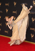 LOS ANGELES, CA - SEPTEMBER 09: Jessie Graff, at the 2017 Creative Arts Emmy Awards at Microsoft Theater on September 9, 2017 in Los Angeles, California. <br /> CAP/MPIFS<br /> &copy;MPIFS/Capital Pictures