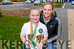 Katie McCabe with daughter Keeley from Ballyduff won medals at the WIDA Irish Dancing Associations championships in the Brandon Hotel on Saturday morning standing with Bobby and Mikey Boyle and Gillian Lucid.