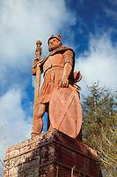 William Wallace Statue near Dryburgh, Scottish Borders
