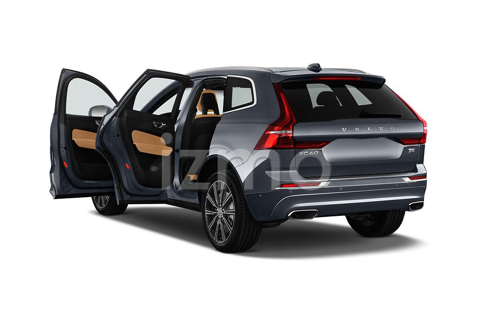 Car images close up view of a 2018 Volvo XC60 Inscription 5 Door SUV doors