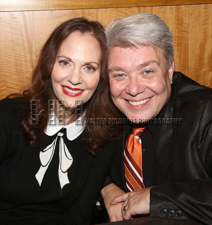 Lesley Ann Warren and Richard Skipper  Celebrate the 50th Anniversary DVD Release Of 'Rodgers & Hammerstein's Cinderella' with a DVD signing at Barnes & Noble 86th Street  on September 24, 2014 in New York City.