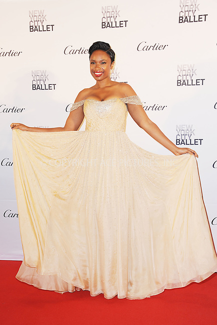 WWW.ACEPIXS.COM<br /> September 30, 2015 New York City<br /> <br /> Jennifer Hudson attending the 2015 New York City Ballet Fall Gala at the David H. Koch Theater at Lincoln Center on September 30, 2015 in New York City.<br /> <br /> Credit: Kristin Callahan/ACE Pictures<br /> <br /> Tel: (646) 769 0430<br /> e-mail: info@acepixs.com<br /> web: http://www.acepixs.com