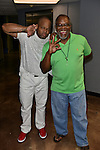MIAMI, FL - MAY 29: Steve Brown and Carl Sams backstage at the 9th Annual Memorial Weekend Comedy Festival at James L Knight Center on May 29, 2016 in Miami, Florida. ( Photo by Johnny Louis / jlnphotography.com )