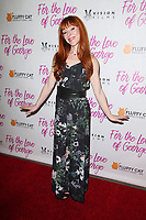 HOLLYWOOD, CA - February 12: Ruth Connell, at Premiere Of Vision Films' 'For The Love Of George' at TCL Chinese 6 Theatres in Hollywood, California on February 12, 2018. Credit: Faye Sadou/MediaPunch