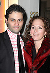 Arian Moayed and Krissy Shields attending the Opening Night Performance of Edward Albee's 'Who's Afraid of Virginia Woolf?' at the Booth Theatre on October 13, 2012 in New York City.