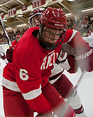 Holden Anderson (Cornell - 6), Ryan Donato (Harvard - 16) - The Harvard University Crimson defeated the visiting Cornell University Big Red on Saturday, November 5, 2016, at the Bright-Landry Hockey Center in Boston, Massachusetts.