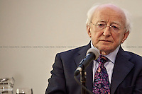 Michael D. Higgins, President of Ireland - 2012<br />