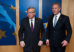 150204: Jean-Claude JUNCKER receives Christian WULFF