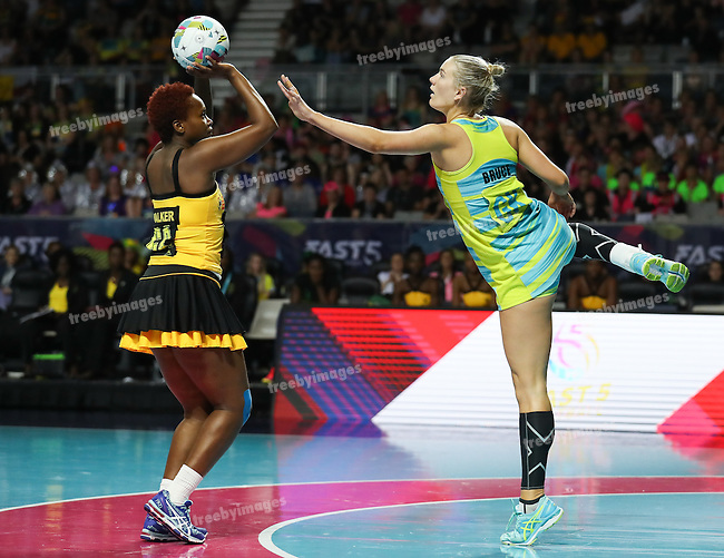 2016 Fast 5 Netball World Series<br /> Game 4<br /> Australia v Jamaica
