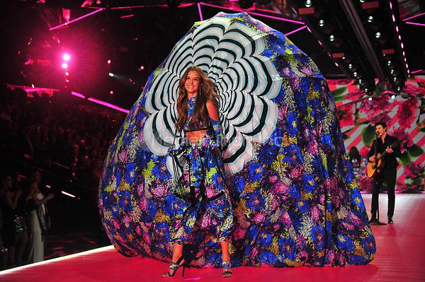 NEW YORK, NY - NOVEMBER 08: Josephine Skriver at the 2018 Victoria's Secret Fashion Show at Pier 94 on November 8, 2018 in New York City. Credit: John Palmer/MediaPunch