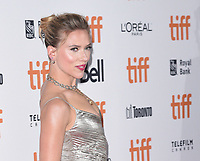 "TORONTO, ONTARIO - SEPTEMBER 08: Scarlett Johansson attends the ""Jojo Rabbit"" premiere during the 2019 Toronto International Film Festival at Princess of Wales Theatre on September 08, 2019 in Toronto, Canada. <br /> CAP/MPIIS<br /> ©MPIIS/Capital Pictures"