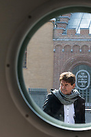 Bernard Wesphael attends the 10th day trial at the Assize court in Mons - Belgium