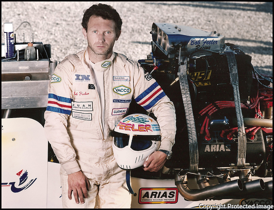 Bob Feeler<br /> Concepteur et pilote de dragster.<br /> Recordman du monde d'acc&eacute;l&eacute;ration sur 400m d&eacute;part arr&ecirc;t&eacute;<br /> 621km/h en 3,5 s