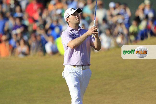 Branden GRACE (RSA) misses his putt on the 17th green during Sunday's Final Round of the 2015 U.S. Open 115th National Championship held at Chambers Bay, Seattle, Washington, USA. 6/22/2015.<br /> Picture: Golffile | Eoin Clarke<br /> <br /> <br /> <br /> <br /> All photo usage must carry mandatory copyright credit (&copy; Golffile | Eoin Clarke)