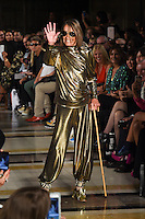 Anita Pallenberg<br /> at the Pam Hogg catwalk show as part of London Fashion Week SS17, Freemason's Hall, Covent Garden, London<br /> <br /> <br /> &copy;Ash Knotek  D3155  16/09/2016