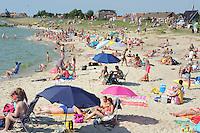 SKÛTSJESILEN: STAVOREN: IJsselmeer, 03-08-2015, 2e wedstrijd IFKS kampioenschap, A-klasse, strand, ©foto Martin de Jong