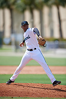 GCL Marlins pitcher Jesus Sanchez (36) during a Gulf Coast League game against the GCL Astros on August 8, 2019 at the Roger Dean Chevrolet Stadium Complex in Jupiter, Florida.  GCL Astros defeated GCL Marlins 4-2.  (Mike Janes/Four Seam Images)