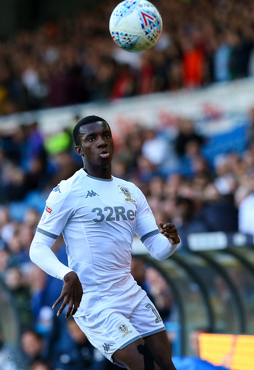 Leeds United's Eddie Nketiah<br /> <br /> Photographer Alex Dodd/CameraSport<br /> <br /> The EFL Sky Bet Championship - Leeds United v Swansea City - Saturday 31st August 2019 - Elland Road - Leeds<br /> <br /> World Copyright © 2019 CameraSport. All rights reserved. 43 Linden Ave. Countesthorpe. Leicester. England. LE8 5PG - Tel: +44 (0) 116 277 4147 - admin@camerasport.com - www.camerasport.com