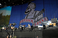 LONDON, ENGLAND - JULY 6: Seasick Steve performing at British Summer Time, Hyde Park on July 6, 2018 in London, England.<br /> CAP/MAR<br /> &copy;MAR/Capital Pictures