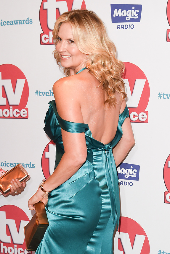 Penny Lancaster<br /> arriving for the TV Choice Awards 2017 at The Dorchester Hotel, London. <br /> <br /> <br /> ©Ash Knotek  D3303  04/09/2017