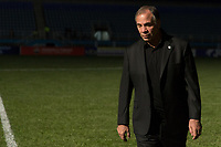 Couva, Trinidad & Tobago - Tuesday Oct. 10, 2017:  Bruce Arena during a 2018 FIFA World Cup Qualifier between the men's national teams of the United States (USA) and Trinidad & Tobago (TRI) at Ato Boldon Stadium.