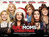 A Bad Moms Christmas (2017) <br /> Wallpaper with Mila Kunis, Kristen Bell, Kathryn Hahn, Susan Sarandon, Christine Baranski &amp; Cheryl Hines<br /> *Filmstill - Editorial Use Only*<br /> CAP/KFS<br /> Image supplied by Capital Pictures
