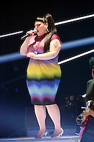 Beth Ditto of Gossip performing live during Germanys Next Top Model Finale (GNTM 2012 FINALE) in the Lanxess Arena, Cologne, Germany, 07.06.2012...Credit: Back/face to face /MediaPunch Inc. ***FOR USA ONLY*** /NORTEPHOTO.COM
