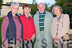 Pictured at the 25th anniversary celebrations of the Killarney Nature Conservation group in St Marys church, Killarney on Sunday evening were Ulla Flynn, Norma Bartlett, Noel Grimes and Claire Morris.