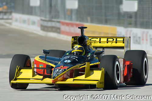 31 August 2007: Vitor Meira (BRA) at the Detroit Belle Isle Grand Prix, Detroit, Michigan.