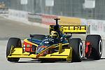 31 August 2007: Vitor Meira (BRA) at the Detroit Belle Isle Grand Prix, Detroit, Michigan.