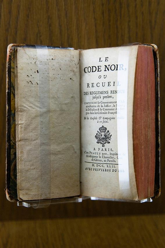 Le Code noir, 1742