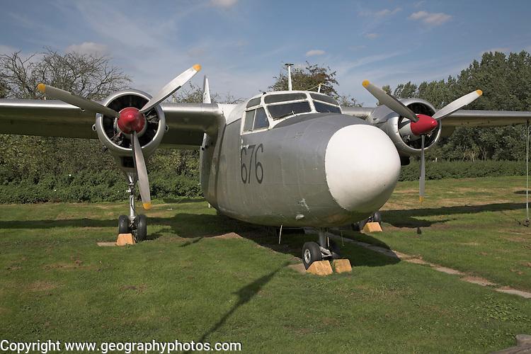 Hunting Percival Sea Prince T1 Norfolk  Suffolk aviation museum Flixton Bungay England.