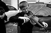 Teatro Sociale, Como,vilinista, giovane violinista