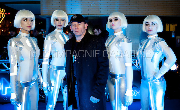 André Nientied at Disney's Tron Legacy movie première in Amsterdam at the Pathé City Theatre (Holland, 12/01/2011)