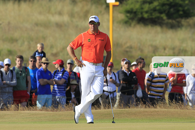Lee WESTWOOD (ENG) during round 3 of  The 142th Open Championship Muirfield, Gullane, East Lothian, Scotland 20/7/2013<br /> Picture Eoin Clarke www.golffile.ie: