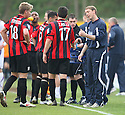 Histon player-manager David Livermore gives instructions during the Blue Square Bet Premier match between Histon and AFC Wimbledon at the Glass World Stadium, Histon on 16th April, 2011.© Kevin Coleman 2011.