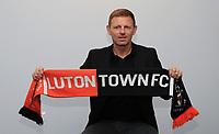 Graeme Jones unveiled as Luton FC Manager - 08.05.2019