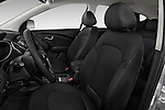 Front seat view of a 2015 Hyundai Tucson SE Awd 5 Door Suv 2WD Front Seat car photos