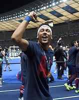 FUSSBALL  CHAMPIONS LEAGUE  FINALE  SAISON 2014/2015   Juventus Turin - FC Barcelona                 06.06.2015 Der FC Barcelona gewinnt die Champions League 2015: Neymar  jubelt