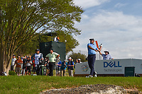 Charl Schwartzel (RSA) watches his tee shot on 3 during day 2 of the World Golf Championships, Dell Match Play, Austin Country Club, Austin, Texas. 3/22/2018.<br /> Picture: Golffile | Ken Murray<br /> <br /> <br /> All photo usage must carry mandatory copyright credit (&copy; Golffile | Ken Murray)