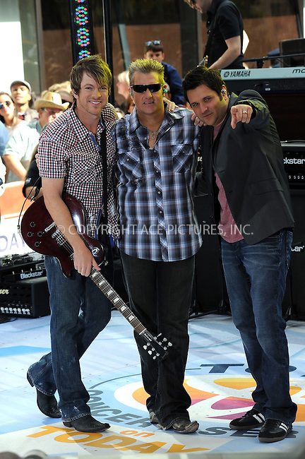 WWW.ACEPIXS.COM . . . . . ....June 11 2010, New York City....Rascal Flatts performing on NBC's 'Today' show in the Rockefeller Center on June 11, 2010 in New York City.....Please byline: KRISTIN CALLAHAN - ACEPIXS.COM.. . . . . . ..Ace Pictures, Inc:  ..(212) 243-8787 or (646) 679 0430..e-mail: picturedesk@acepixs.com..web: http://www.acepixs.com