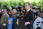 Carson City Mayor Bob Crowell speaks at the 45th annual Western Nevada College Commencement ceremony in Carson City, Nev., on Monday, May 23, 2016. A record 556 graduates received 598 degrees.<br />