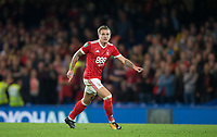 Jason Cummings of Notthingham Forest during the Carabao Cup (Football League cup) 23rd round match between Chelsea and Nottingham Forest at Stamford Bridge, London, England on 20 September 2017. Photo by Andy Rowland.