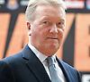 Haye vs Chisora<br /> &quot;Licensed to Thrill&quot;<br /> <br /> at West Ham Football Club <br /> Upton Park, London, Great Britain <br /> press conference<br /> 8th May 2012 <br /> <br /> Adam Booth (trainer)<br /> <br /> Frank Warren (Boxing Promoter)<br /> <br /> Francis Warren <br /> <br /> David Haye<br /> former WBA World Heavyweight Champion<br /> <br /> Dereck Chisora<br /> former British &amp; Commonwealth Heavyweight Champion<br /> <br /> <br /> Photograph by Elliott Franks