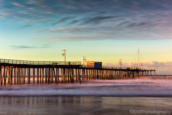 Pismo Beach Pier at sunrise