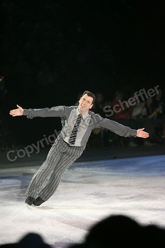 April 7, 2007; Hamilton, Canada; Brian Orser skates during the Stars on Ice tour stop at Copps Coliseum. Photo: Ron Scheffler.