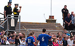 Probably the very first time police with video cameras have been deployed within a Scottish Division 3 league match